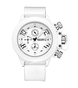 North King Reloj Grande Dial Deportes ejército Reloj Resistente al Agua Relojes Bonitos Cuarzo Relojes Fecha