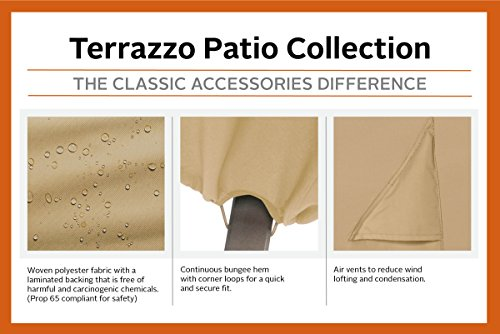 Classic Accessories 58902-EC Terrazzo Patio Umbrella Cover