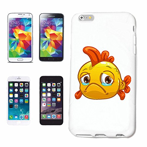 "cas de téléphone Samsung Galaxy S3 i9300 ""SAD goldfisch SMILEY ""sourire EMOTICON APP de SMILEYS SMILIES ANDROID IPHONE EMOTICONS IOS"" Hard Case Cover Téléphone Covers Smart Cover pour Samsung Galaxy S"