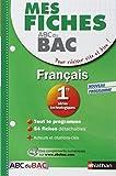 Mes fiches ABC du BAC Français 1re séries technologiques by Elsa JOLLES (2013-01-09)