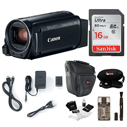 Canon VIXIA HF R800: 1080p HD Video 57x Zoom Camcorder Bundl