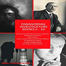 Paranormal Investigators: Volume 12: Books 6-10 Audiobook by rodney c cannon Narrated by Kane Prestenback