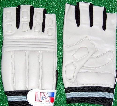 United Athletic Half Fingered Football Lineman Gloves Adult XXXL