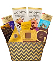 Godiva Chocolate Gourmet Gift Basket Filled with Sweet Delights