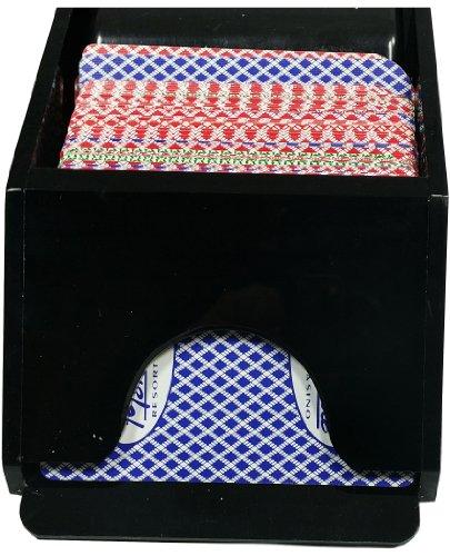 Blackjack dealing shoe 4 deck