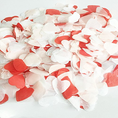StarParty 12 inch Valentine's Day Confetti & Valentine's Day Confetti Balloons for Valentine's Party - Card Holder Angel Silver Place