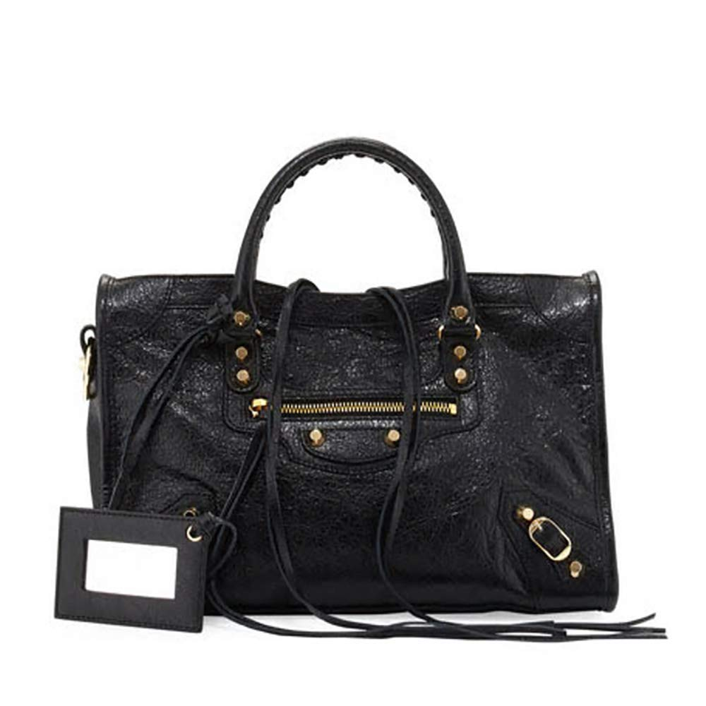 218a09a9d8 Amazon.com  Balenciaga Giant 12 Gold City Bag