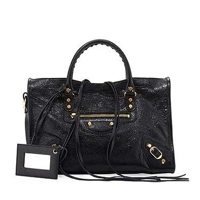 70f4782e0663 Amazon.com  Balenciaga Giant 12 Gold City Bag