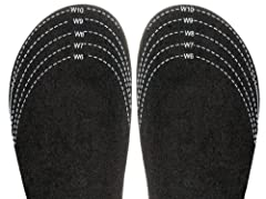 """This Sloggers exclusive """"Half-Sizer"""" Insole is the key to a perfect fit. If you are in-between sizes, order up to the next full size & use our """"Half-Sizer"""" Insole to reduce the fit by one-half size. Just cut to fit & place under the e..."""