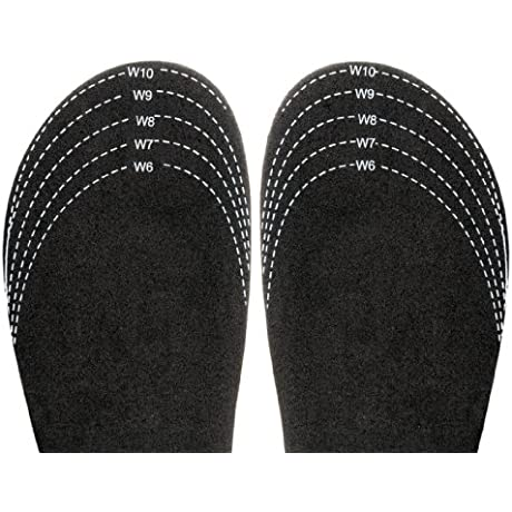 Sloggers Cut To Fit Half Sizer Fit Adjusting Insole Style 330BK