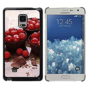iKiki Tech / Estuche rígido - Fruit Cupcakes - Samsung Galaxy Mega 5.8 9150 9152