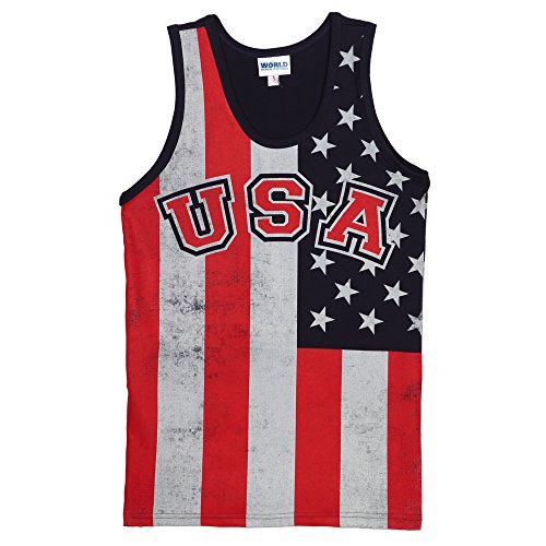 Distressed-USA-Flag-Print-Adult-Tank-Top
