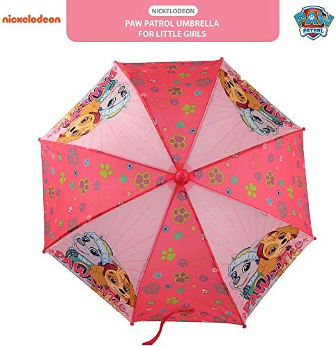Pink Paw Patrol Kids Bubble Umbrella Skye /& Friends Travel Outdoor