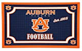 Team Sports America 41EM928 Embossed Door Mat-Auburn, Multicolor