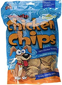 All Natural Chicken Chips- Dog Treats (Large- 16 oz. bag)