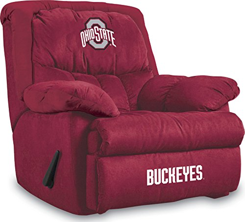 Ohio State Buckeyes Recliner - Imperial Officially Licensed NCAA Furniture: Home Team Microfiber Rocker Recliner, Ohio State Buckeyes