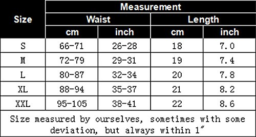 Summer Code Men's Athletic Supporter Performance Jockstrap Elastic Waistband Underwear