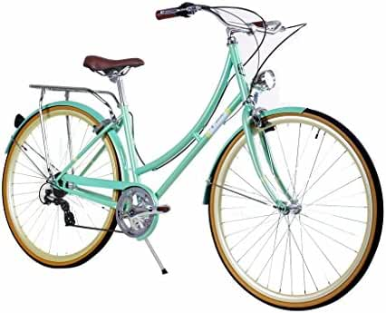 Zycle Fix Civic Women - Minty - Women City Series 7 Speed Urban Commuter Bike