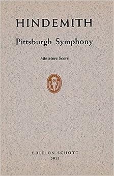 SCHOTT HINDEMITH PAUL - PITTSBURGH SYMPHONY - ORCHESTRA Partition classique Ensemble et orchestre Conducteur