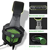 Sades SA-807 Gaming headset Gaming Headphone with Microphone For PS4/Xbox 360 /PC /Laptop/ Cellphone Black Green Review