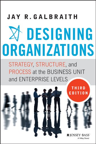 Designing Organizations: Strategy, Structure, and Process at the Business Unit and Enterprise (Process Unit)