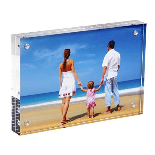 Clear Acrylic Photo Frame 8x12