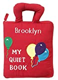 PERSONALIZED My Quiet Book, Fabric Activity Book for Toddlers By Pockets of Learning