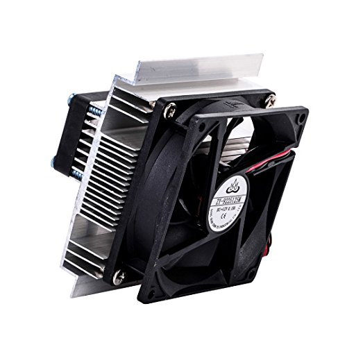 SODIAL TEC-12706 Thermoelectric Peltier Refrigeration Cooling System Kit Cooler Fan DIY by SODIAL (Image #4)