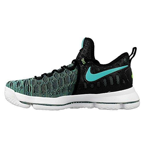 Nike Zoom Kd 9, Zapatillas de Baloncesto para Hombre Verde (Clear Jade / Black)