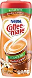 Coffee-mate Vanilla Caramel, Sugar-Free Powdered Coffee Creamer, 10.2-Ounce Units (Pack of 6)