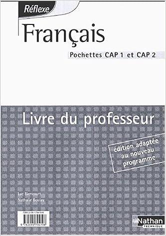Français CAP 1 et 2 : Livre du professeur pdf