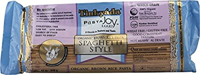 Tinkyada Organic Brown Rice Pasta, Spaghetti, 12 Ounce (Pack of 12)