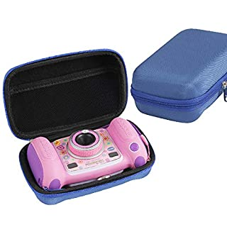 Hermitshell Hard EVA Carrying Case Fits VTech Kidizoom Camera Pix (Blue)