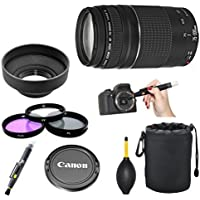Canon EF 75-300mm f/4-5.6 III Telephoto Lens Kit