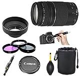 Canon EF 75-300mm f/4-5.6 III Telephoto Lens Kit