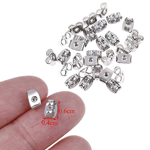 Diy Craft Storage - 30pcs 925 Silver Butterfly Earrings Back Fit Stud Clasp Earring Stopper Diy Fashion Jewelry Findings - Storage Craft Craft Storage Butterfly Pendant Silver Long Sterl