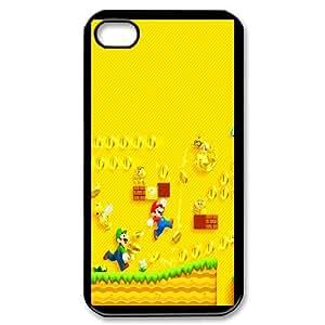Custom Case Super Mario Bros games PHONE Case For iPhone 4,4S ZZ29W3336