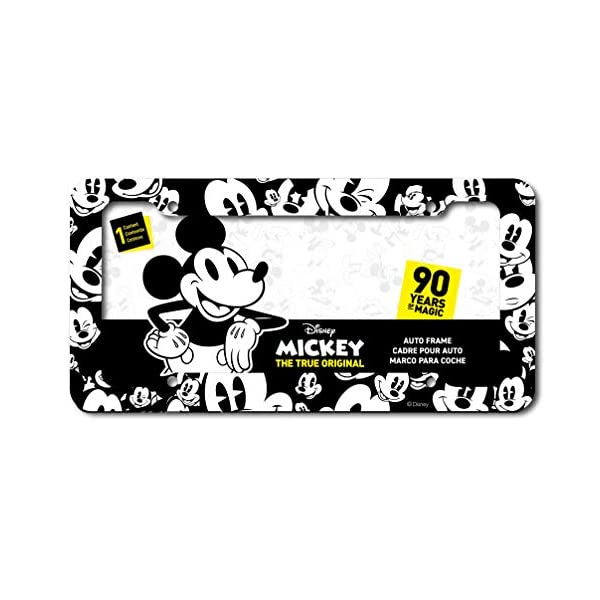 license plate frames Micky Mouse