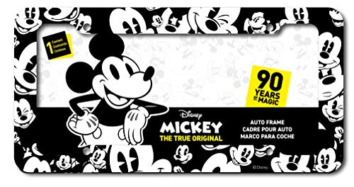 CHROMA 42563 Disney True Original Black and White Mickey Mouse Emoji Heads Plastic Frame ()