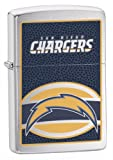 Zippo NFL San Diego Chargers Lighter (Silver, 5 1/2 x 3 1/2 cm)