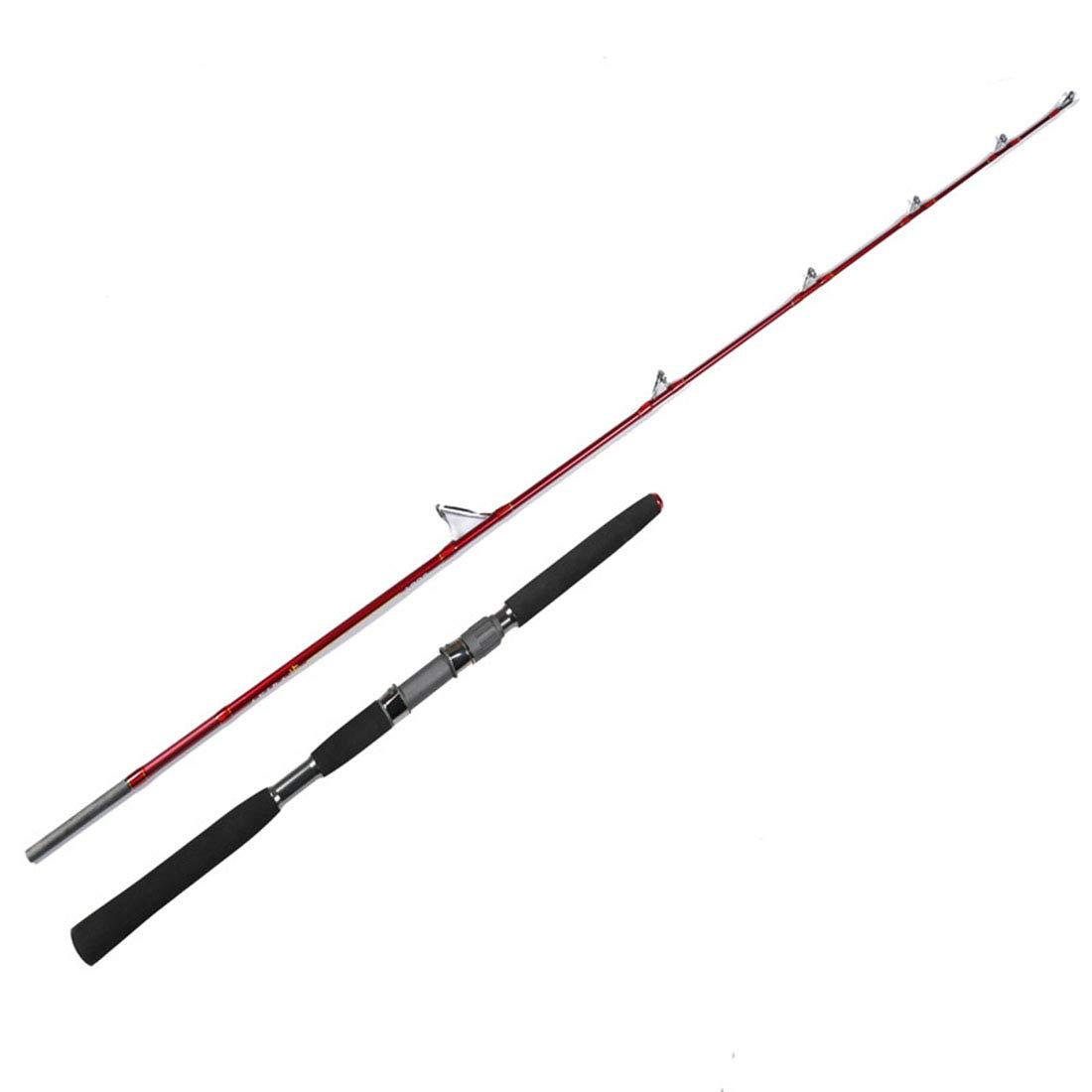 荒波が百貨店を使う 釣り竿釣り用品釣り竿炭素鋼棒池リバーサイドに適した 180CM  B07Q6YGG4Q
