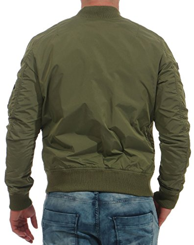 Verde 1 Uomo Alpha Ma Jacket Tt Patch Industries qHWaWPwB