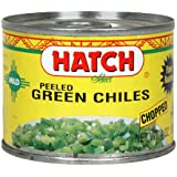 Hatch Chile Company Hatch Mild Chopped Green Chilies, 4-Ounce (Pack of 24)