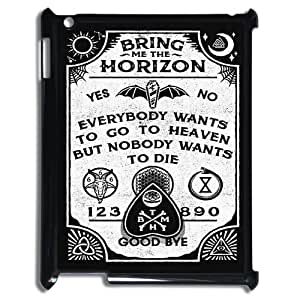 wugdiy Customized Cell Phone Case Cover for iPad2,3,4 with DIY Design Bring Me The Horizon