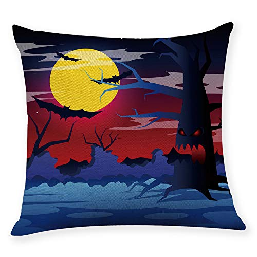 GOVOW Throw Pillows for Couch Home Decor Cushion Cover Halloween Pillowcase Covers