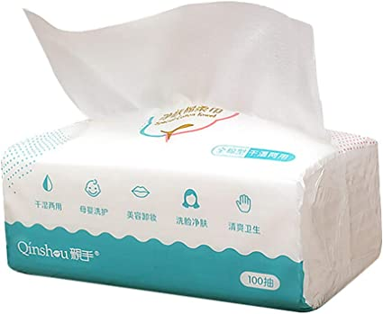 Frcolor 1 paquete de pañuelos desechables de limpieza facial ...