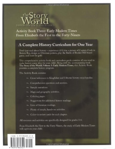 The Story of the World Activity Book Three: Early Modern Times by Peace Hill Press (Image #1)