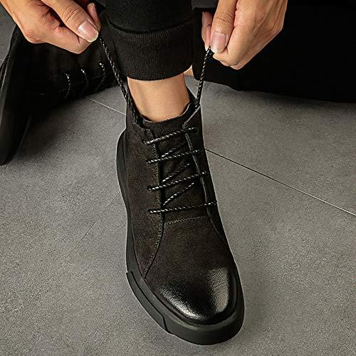 Doc Doc Doc Stivali Stivali Stivali Stivali Adulti Uomo Classic Casual per Black Bovina Autunno Chelsea Pelle in Marten Classic Boots Stivali Stivaletti Moda Pelle retrò rw0xRBqr