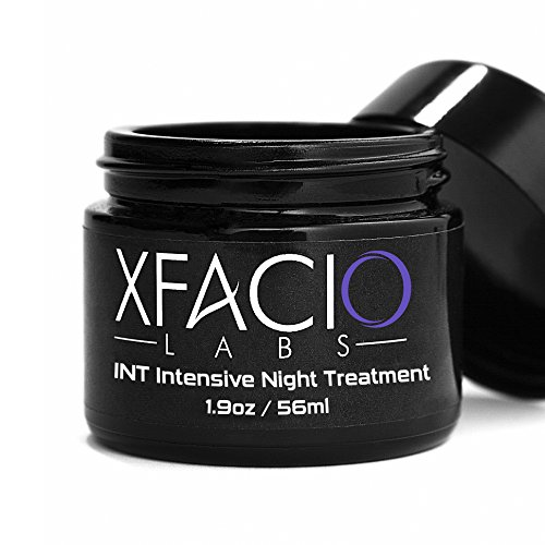 (Intensive Lift Night Cream-100% Advanced Anti Aging Intensive Night Treatment-Xfacio Labs Natural & Organic Formula With CoQ10. Peptides, Hyaluronic Acid, Jojoba Oil & More)