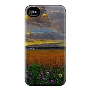 Iphone High Quality Cases/ Scenic-country-farm-evening View DAr12959acQS Cases Covers For Iphone 6plus